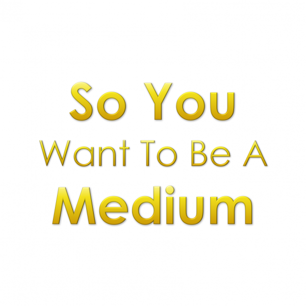 So you want to be a Medium Book